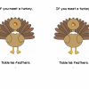 If You Meet a Turkey Printable Books {free}