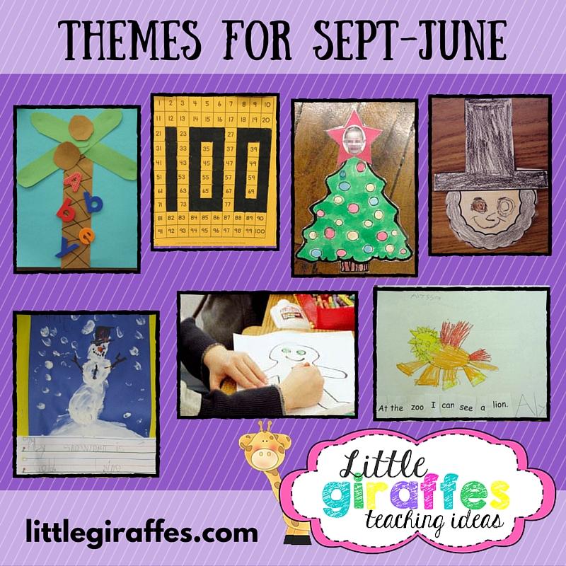 Little Giraffes Teaching Ideas | A to Z Teacher Stuff | Themes