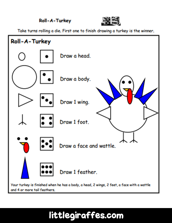 thanksgiving math projects Fun children's learning activities, including printable templates, for preschool, kindergarten and elementary school kids.