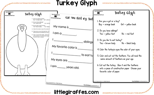 Thanksgiving And Turkey Math Science Social Studies Activities